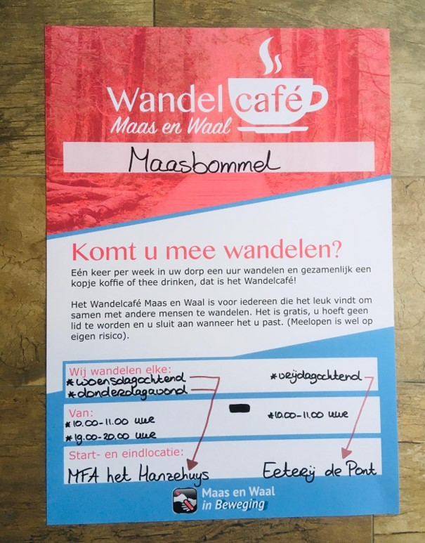 wandelcafe poster